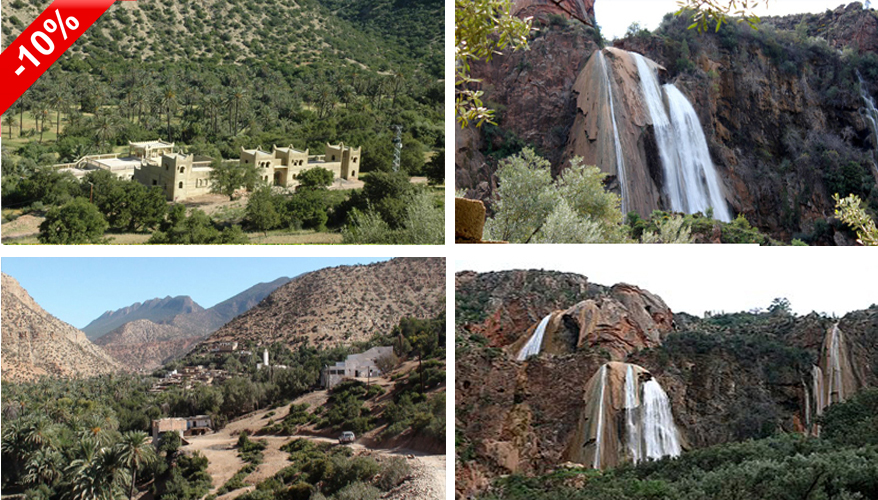 Agadir to  Immouzer Waterfall